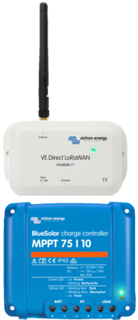 VE.Direct LoRaWAN with MPPT